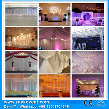 China factory wedding and event decor/ cosmetics trade show booth/wedding stage backdrop decoration