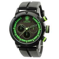 Calgary watches GP Racing collection Yellow and black Green and black