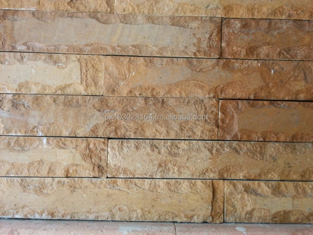 Culture / Natural Golden Stone Wall Cladding