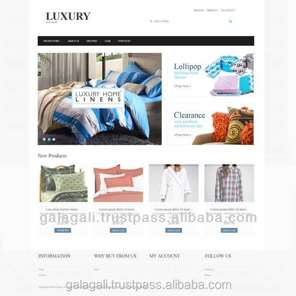 Outsource eCommerce Web Design and Web Development for Furniture with Seo optimization