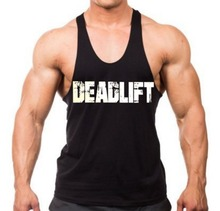 Muscle stringer gym tank tops singlet