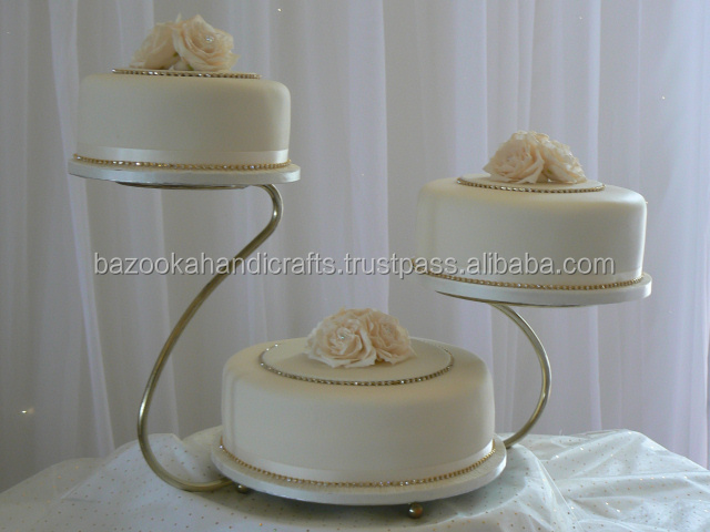 Cake Stand, Metal Cake Stand, Three Tiers Cupcake Holder