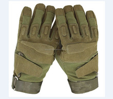 Professional Support Anti Slip safety shooting camo neoprene hunting full finger tactical gloves
