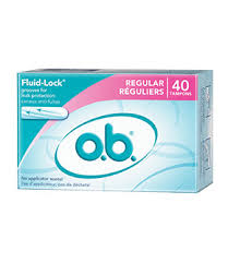 O.B Pro Comfort TAMPONS FOR HYGIENE USE