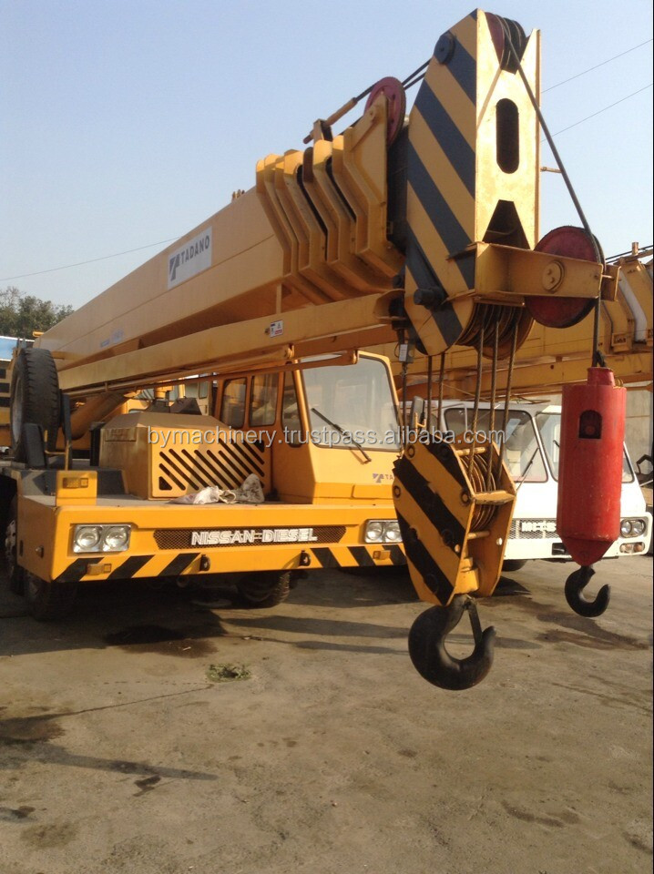 Used Tadano GT-550E Truck Crane 55ton Rated loading Capacity 5