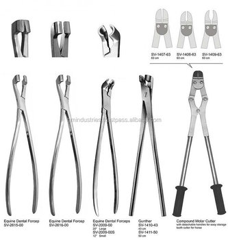 Equine Dental instruments Tool Equipment Veterinary Surgical Equipments Instruments 55353