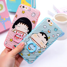 New arrive Cartoon model phone case for iphone6/6plus with ring holder