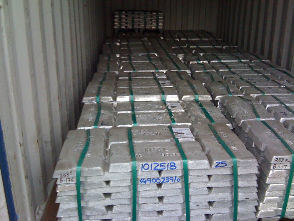 Zinc Ingots for sale at cheaper prices