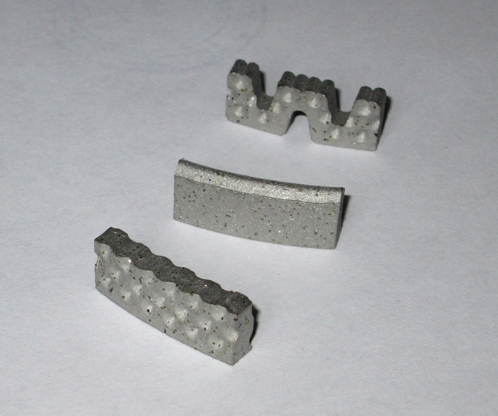Diamond segments for core bits