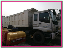 used Japan ISUZU 26ton dump truck high quality for hot sale in Shanghai