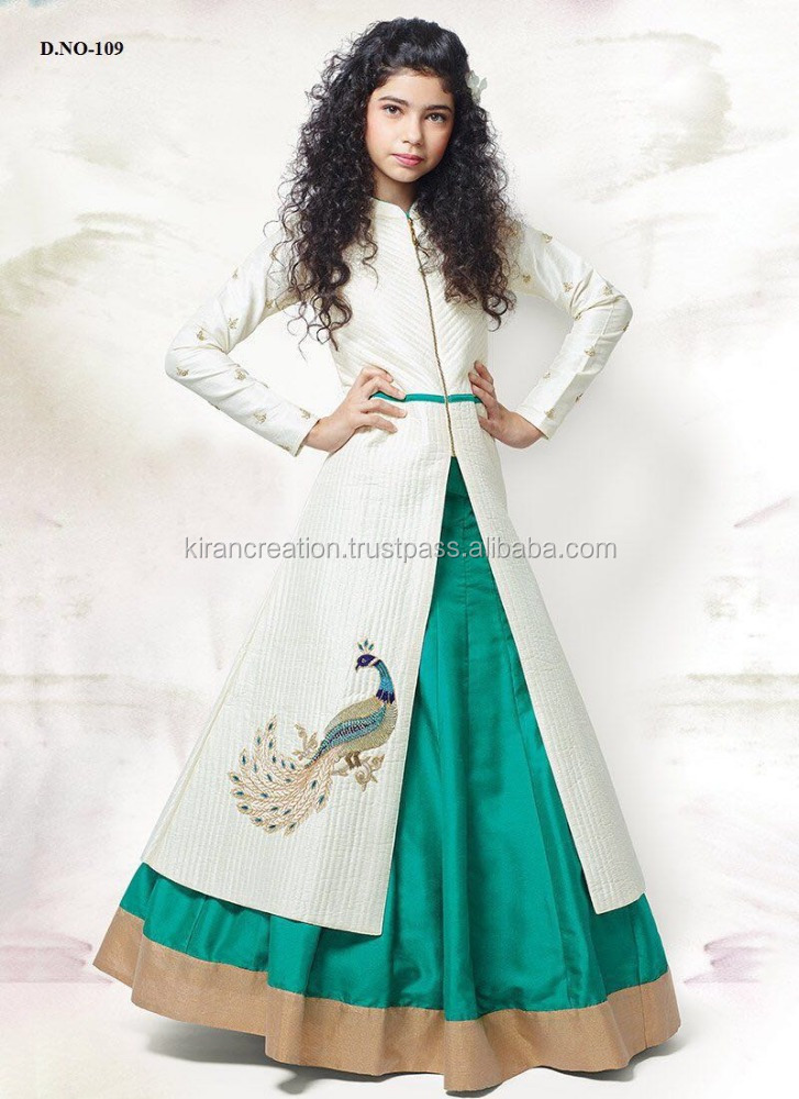 Salwar Wholesalers of Kids Dresses Bollywood Girls Collections Girls Ethnic Wedding Collections
