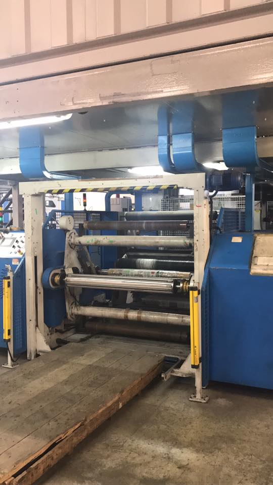 10 colors UTECO EMERALD 107 GL flexo printing machine