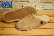 Genuine SHEEPSKIN SLIPPERS Natural FUR LEATHER Home Shoes