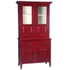 Antique Display Kitchen Cabinet, Wooden Glass Door Almirah, Living Room Furniture