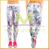 Full sublimated sex skins compression sports tight wear long pants for yoga