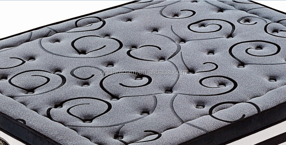 100% latex support health comfort pocket coil spring mattress