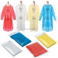 Disposable Rain Poncho Promotional Rain Poncho