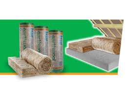KNAUF EARTHWOOL ROOF HEAT INSULATION