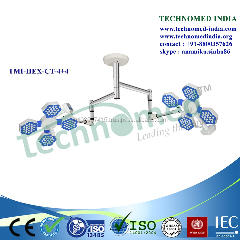 TMI-HEX-CT-4+4 LED surgery light for laser center and surgery center