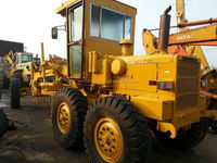 USED 10TON KOMATSU GD505/GD511/GD623 Wheel Motor Grader (container Shipping, diesel engine)