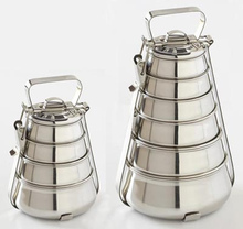 Stainless steel Pyramid Tiffin