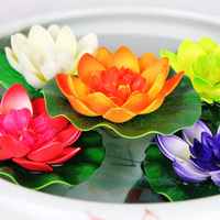 artificial colourful flower lotus for decoration