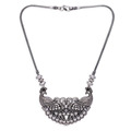 Jaipur Mart Necklace Wholesale Oxidised Silver Plated Jewelry Indian Traditional Design Necklace for Fashion Girls & Women