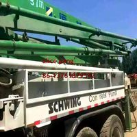 SCHEWING 2004 Year Used 37m Truck Mounted Concrete Pump for Sale