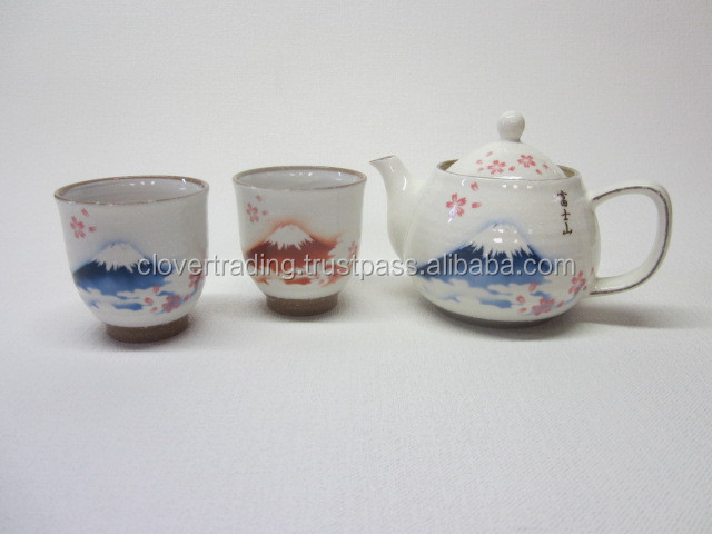 3PC TEA SET AWAYUKI SAKURAFUJI Porcelainware