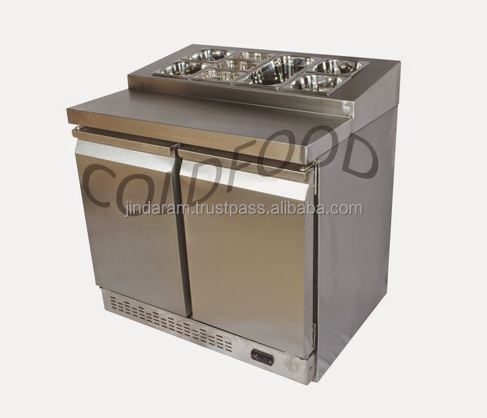 Commercial Stainless Steel Sandwich Display Cooler