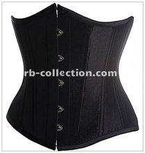 100% high quality under bust sexy corset