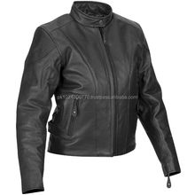 men fashion leather jacket/ high classic leatherjacket