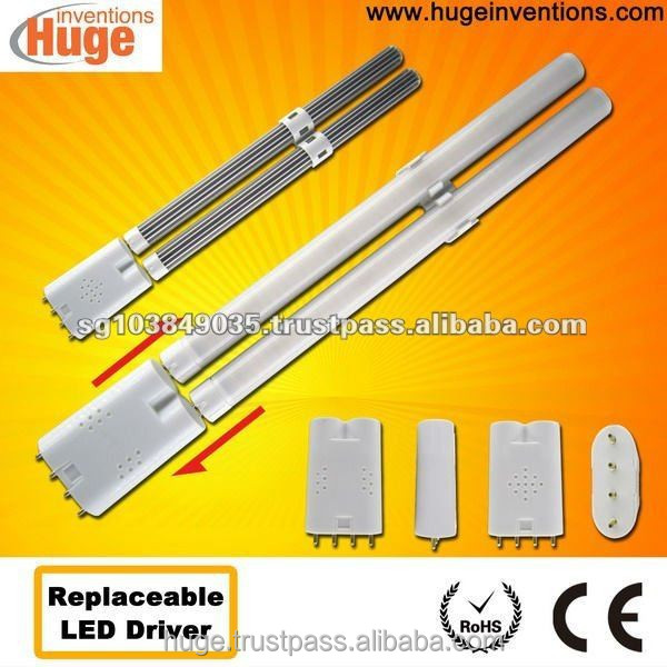 2G11 led light with replaceable driver