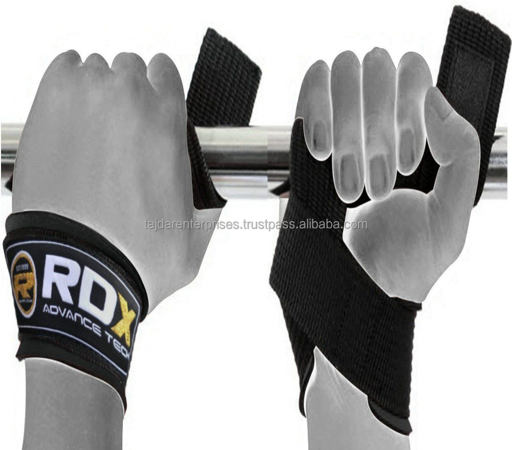 Authentic RDX GE Padded Weight Lifting Gym Straps