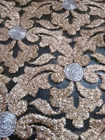Bridal Embroidery Lace Fabric Wholesale