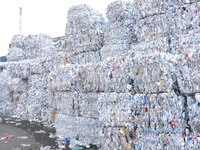 Very Clean BIG BAG SCRAP REUSABLE PLASTIC BAGS,HDPE , MILK BOTTLES and LDPE FILM IN BALES