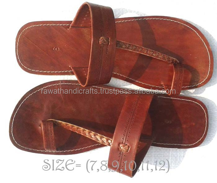 Top Selling quality genuine leather Ladies Sandals Jaipuri Handmade shoes SDL-184