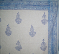 Home Furnishing Hand block Printed Cotton Jaipur Printed Bedspread Bed Sheet