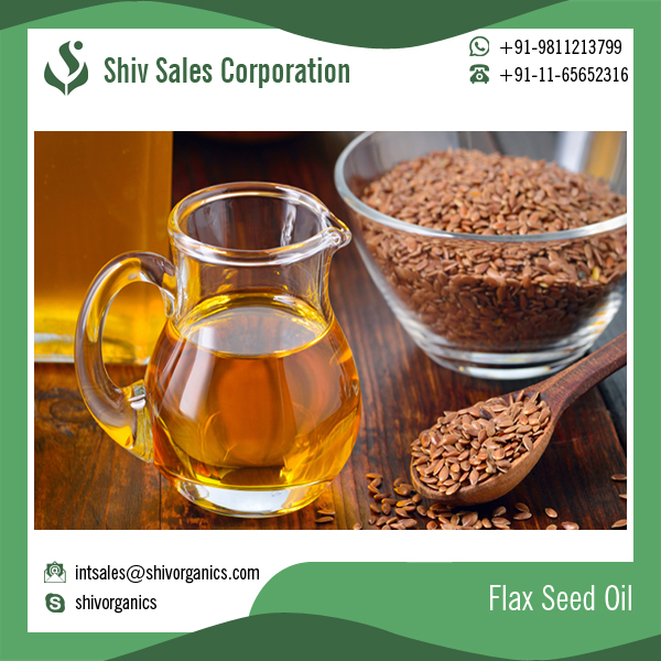 Best Quality Flax Seed Oil for Healthy Hair Skin Brain Heart and Mood