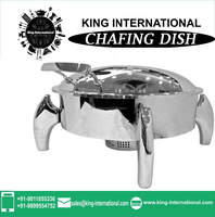 2.0L Stainless steel Egg Shape chafing dish/restaurant equipment/buffet