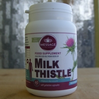 Cold pressed oil from seeds of Milk Thistle - 60 capsules
