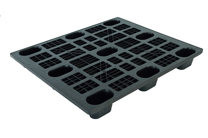 1000x1200 standard size plastic pallet for export and industrial
