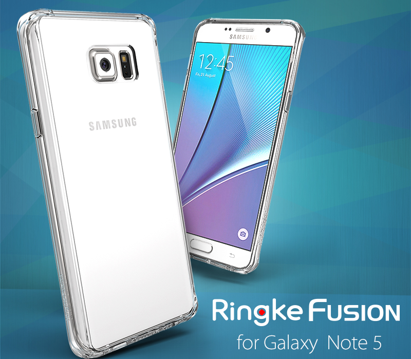 [Ringke] Ringke Fusion Smart Phone Case For Galaxy Note 5