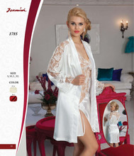 Jasmin Lace Babydoll and Robe Bride Set