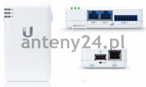 Ubiquiti Networks mPort Supports mFi Smart Home