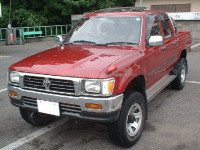 Low cost and High quality used toyota hilux double cab with good fuel economy made in Japan