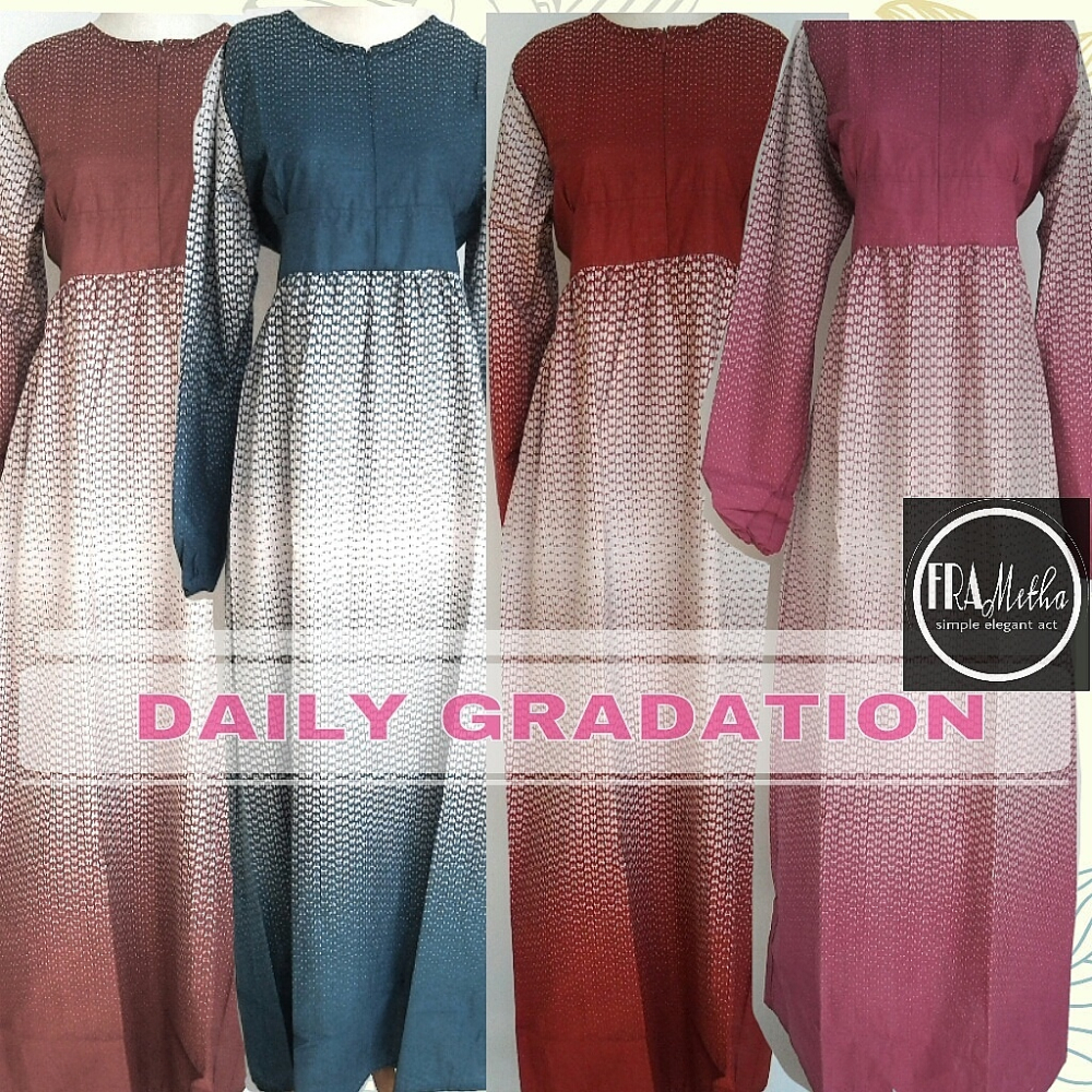 GRADATION DRESS / Maternity