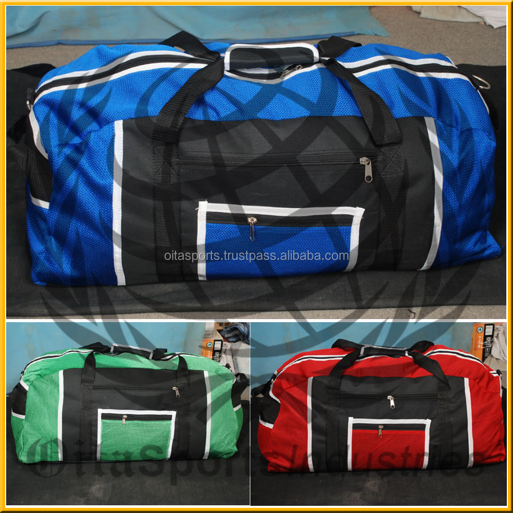 OEM soccer duffel bags for Made in China