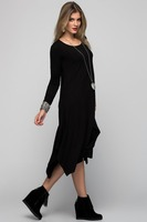 Woman Dress Ladies New Fashion Clothes Wearing Autumn 2015 Product : CM-372-BLACK