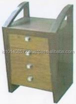Teak Nightstands Indoor Furniture Modern Design.